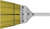 3500 Metal Cap Broom