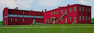Newton Broom Company Building 1935